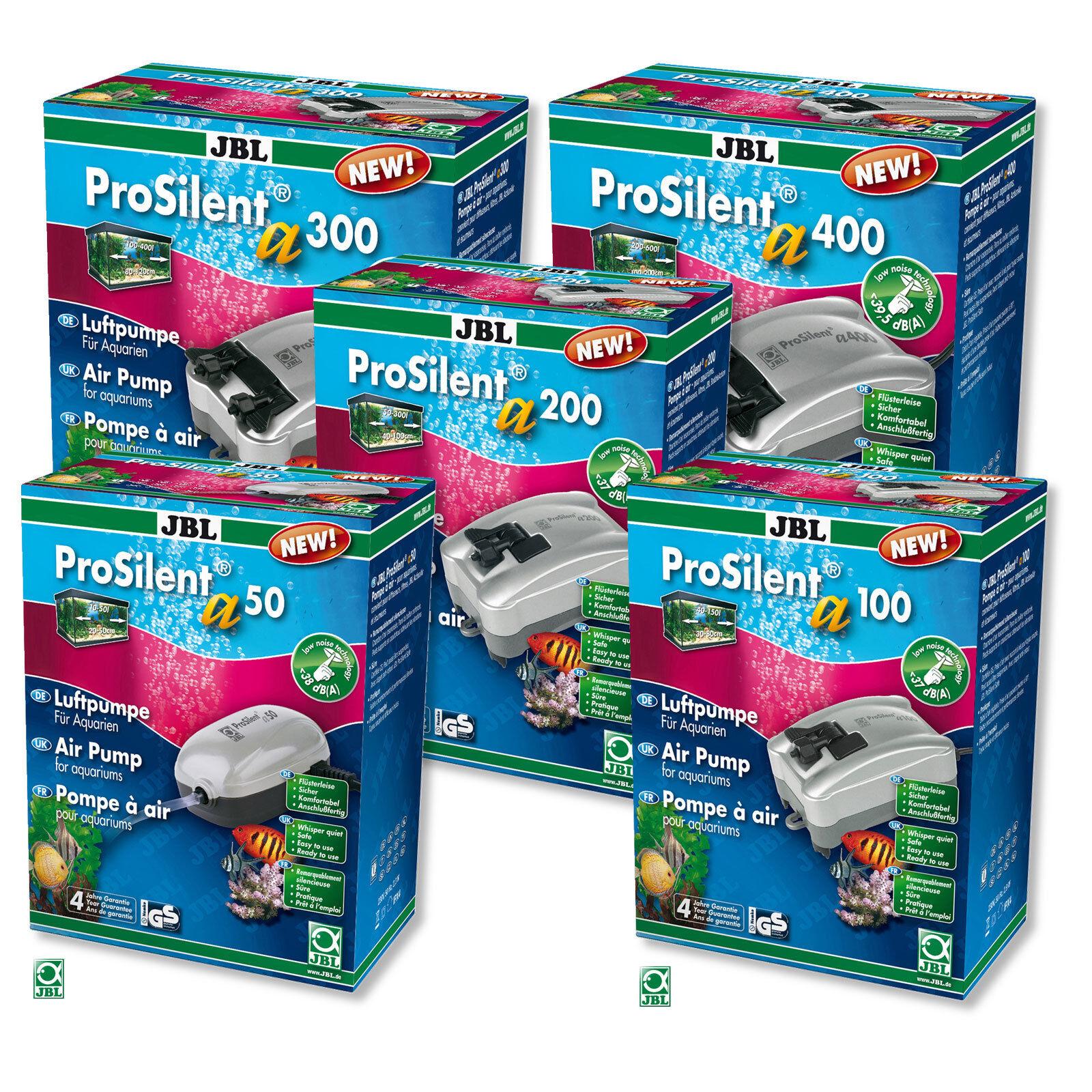 JBL ProSilent Aquarium Sauerstoffpumpe a50 a100 a200 a300 a400 Luftpumpe O2