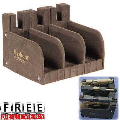 Gun Safe Rack Storage Accessories Holder Modular Display Case Pistols Organizer