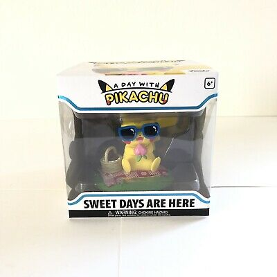 Funko Sweet Days Are Here Pokemon A Day With Pikachu Vinyl In Hand BRAND NEW