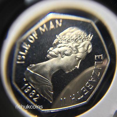 1982 T.T. Commemorative Diamond Finish 50p Coin
