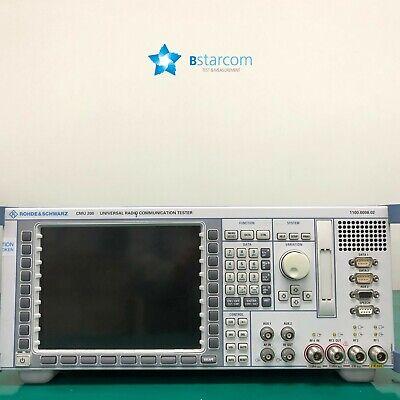 Rs Cmu200 Universal Radio Communication Tester - Many Options