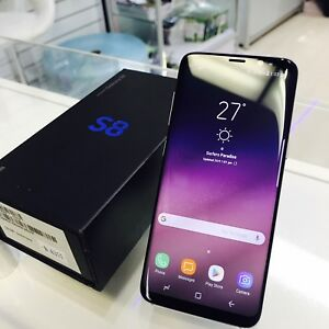 AS NEW GALAXY S8 64GB ORCHID GREY SAMSUNG WARRANTY TAX INVOICE Surfers Paradise Gold Coast City Preview