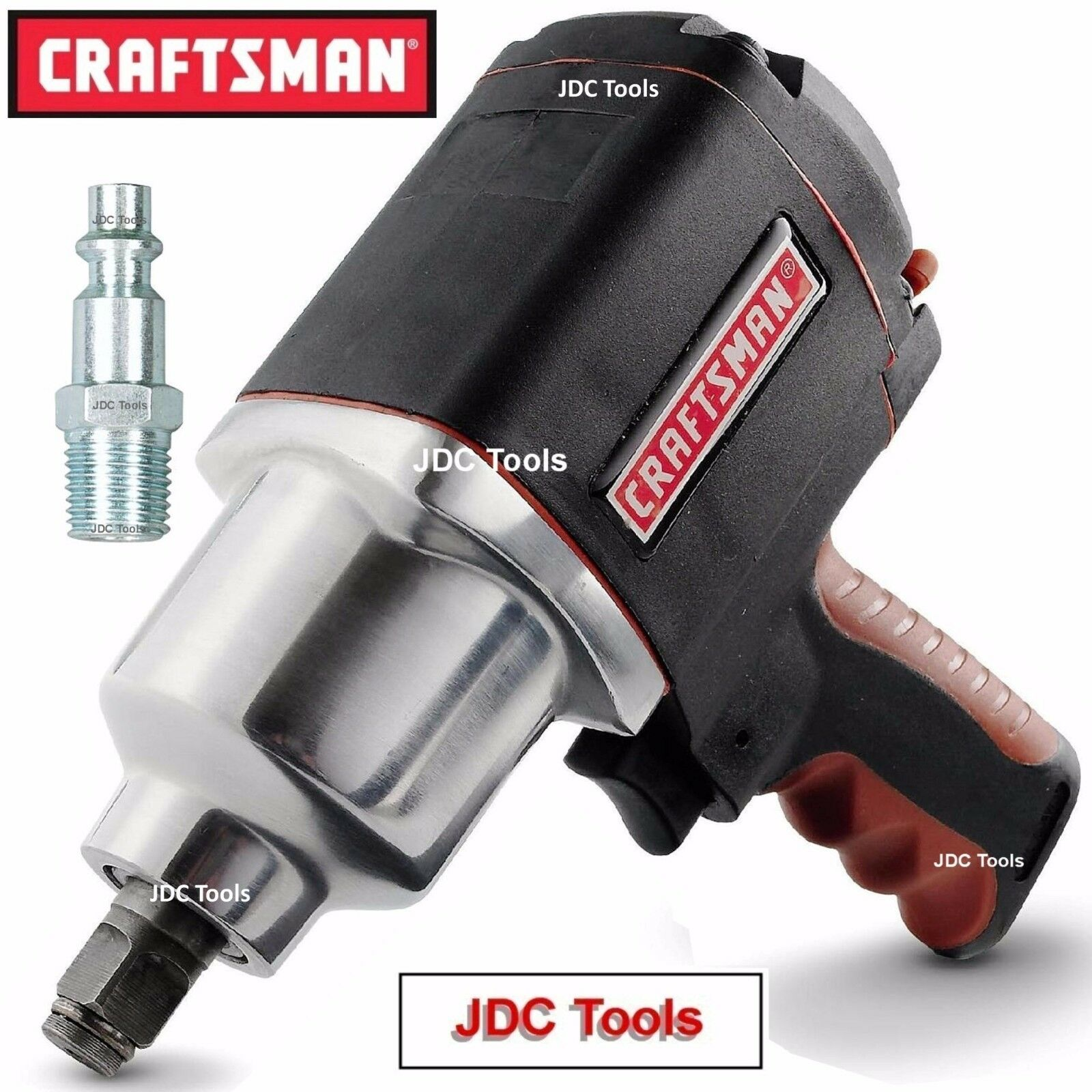 Craftsman 1/2 Air Impact Wrench High Torque Pistol Grip Tool NEW