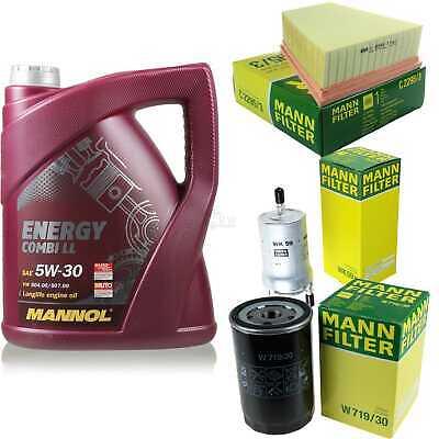 Inspection Set 5L Mannol Energy Combill 5W30 Motor Oil + Mann Filter 10766623