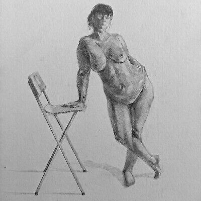 Nude Study (9) - 5x5
