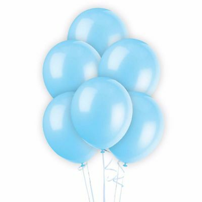 WHOLESALE Light Blue BALLOONS Latex BULK PRICE JOBLOT Quality Any Occasion BALLO