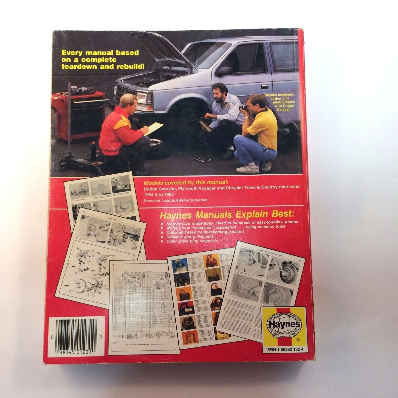 Haynes Dodge Caravan Plymouth Voyager Town & Country