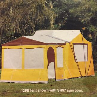 Large Family Tent + Sunroom