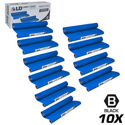 Compatible Brother PC402 Set of 10 Thermal Fax Ribbon Refill Rolls (Brother Compatible Thermal Ribbon)