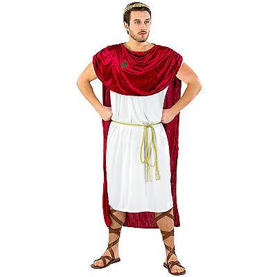 Römer Herren Kostüm Trojaner Spartaner Römerkostüm Kaiser Toga Fasching - Kaiser Kostüm
