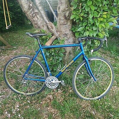 Rock lobster gravel cx bike rebuilt retro steed large frame ready to ride!