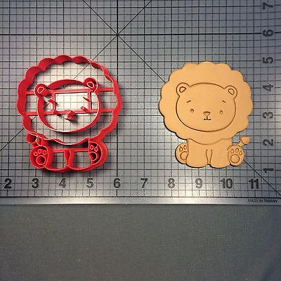 Baby Lion 101 Cookie Cutter - Baby Lion
