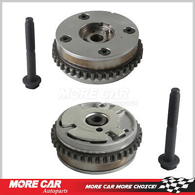 - Pair cam phaser variable sprocket Fit 07-13 Buick Chevrolet Cadillac GMC Saturn