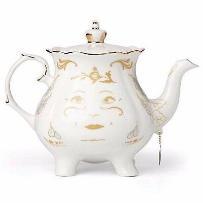 Lenox Disney Mrs Potts Teapot Figurine Beauty and The Beast 2.5 Quart NEW