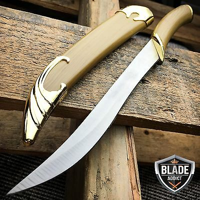 LOTR Lord of the Rings Fighting Knife of Legolas Elven Sword Dagger + Scabbard ()