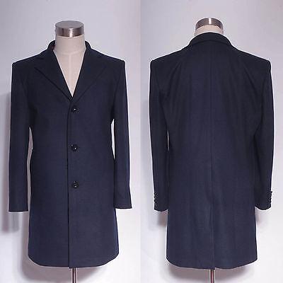 Doctor Who 12th Doctor Peter Capaldi Dark Blue Frock Coat Halloween Costume](Blue Peter Halloween Costume)