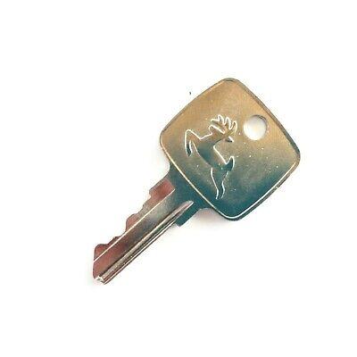 John Deere Ignition Key For Backhoes Loaders Tractors Oem Logo Ar51481
