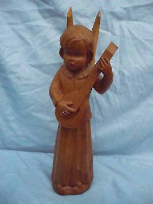 Beautiful, Old Wooden Figure __ Angel ___ 41cm_