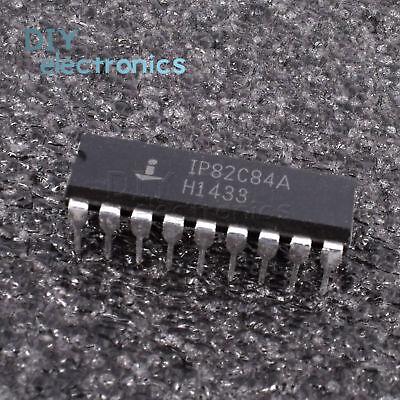 5pcs Ip82c84a Ip82c84 18pins Intersil Cmos Clock Generator Driver