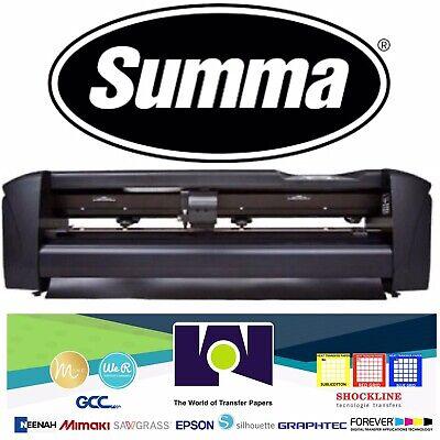 Summa 24 61 Cms Vinyl Cutter Plotter Sign Cutting Machine Wsoftware