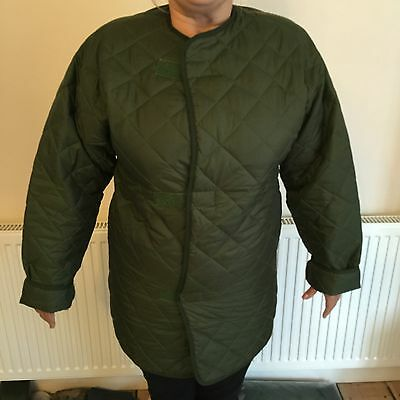 new  British army liner smock british army jacket cold weather very warm
