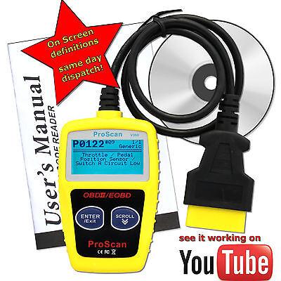 For Jaguar Car Fault Reader Code Scanner Diagnostic Tool OBD 2 CAN CANBUS OBDII