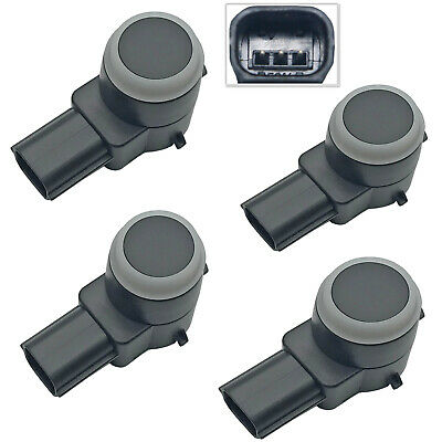4 x Rear Parking Assist Sensor For 2007-11 Chevrolet Silverado 1500 2500 3500 HD