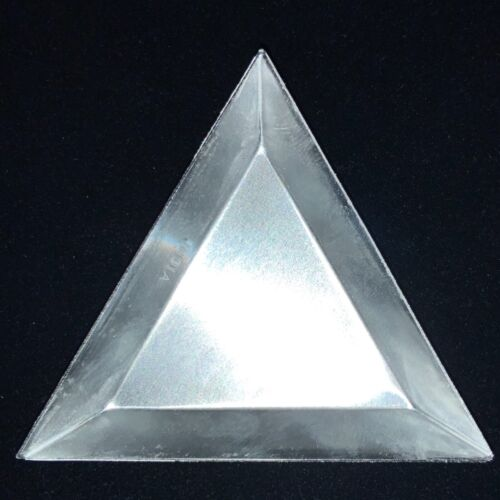 TRIANGULAR TRAY 3pc SCOOP ALUMINUM SEED BEAD WATCH PART