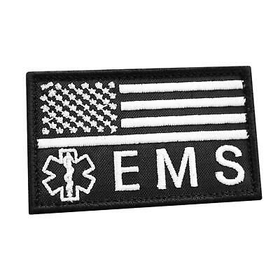 EMS Medic American embroidered EMT morale MED paramedic tactical cap patch