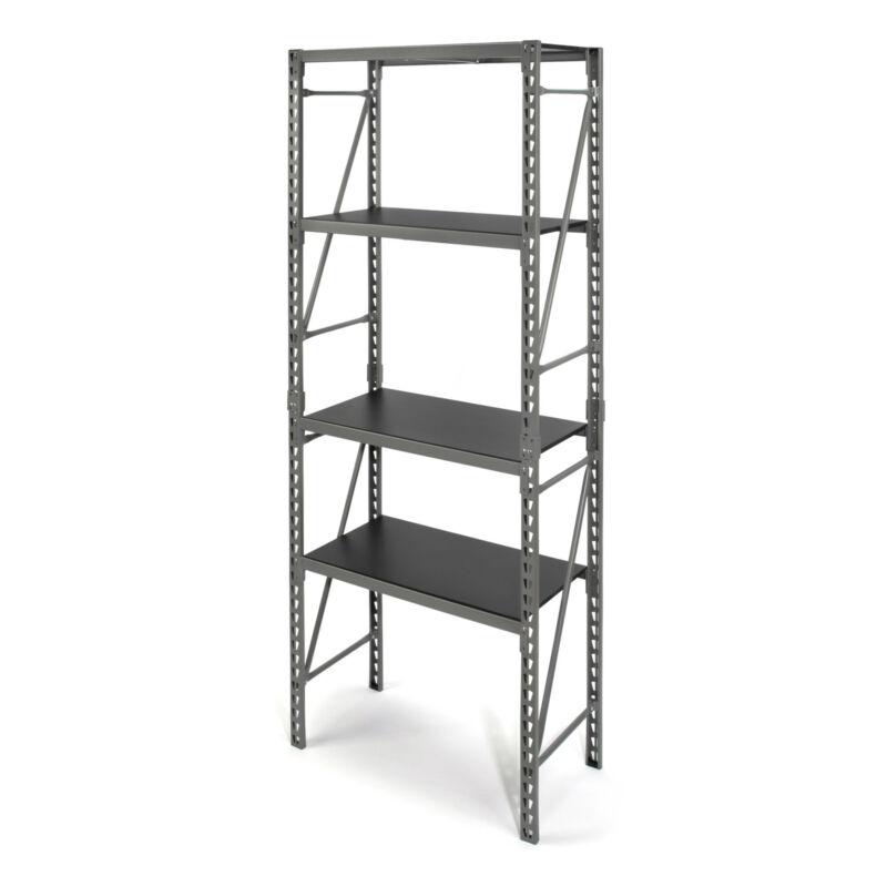 Steelman 75 in. Tall Narrow 3 Shelf Storage Rack STR-2840