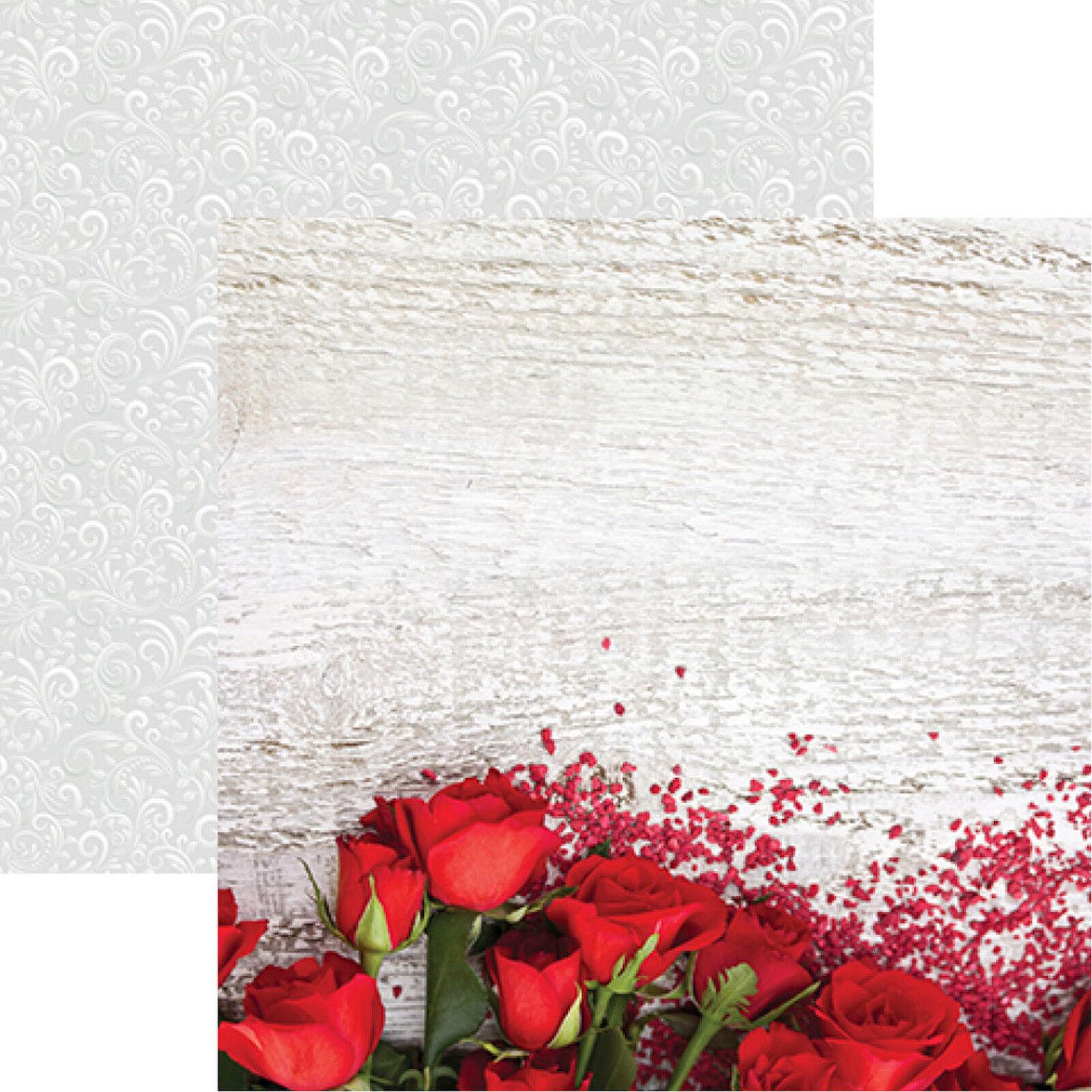12x12 wedding scrapbook paper - Reminisce Wedding Day Scrapbook Kit 8 12x12 Papers 1 12x12 Sticker Sheet