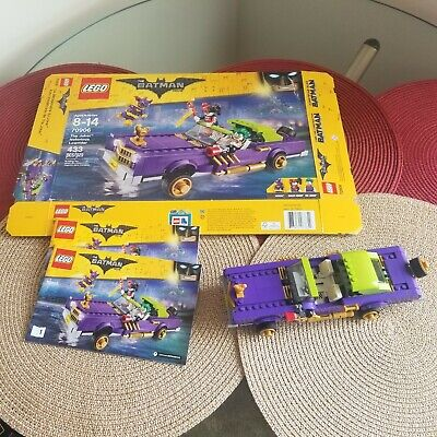 LEGO 70906 Batman Movie The Joker Notorious Lowrider - USED Retired No Mini-figs