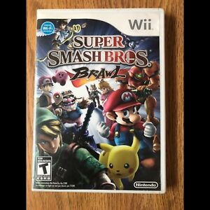 Smash bros brawl wii