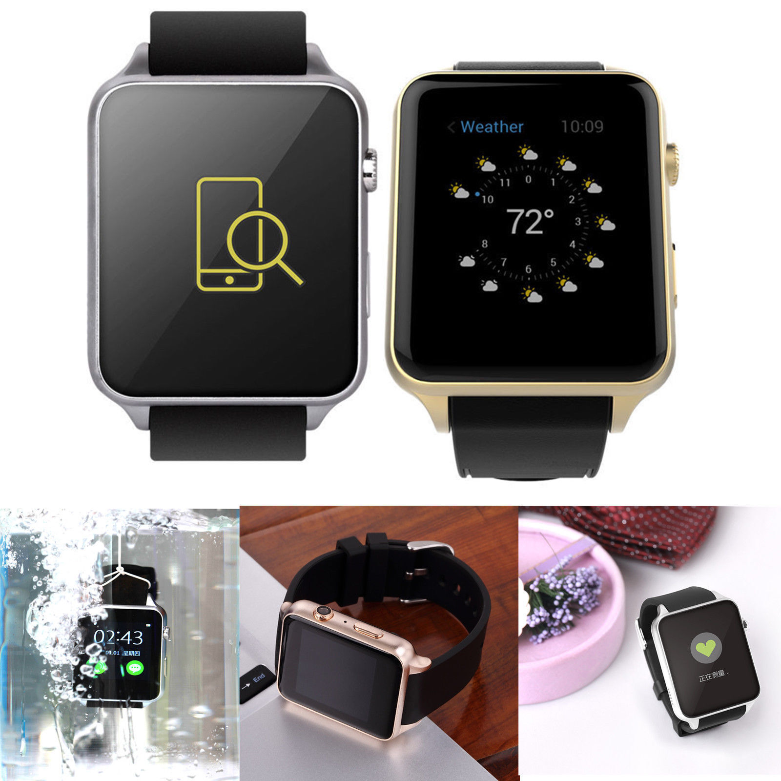 accessories silver bluetooth camera in with smart mobile card sim sw computers support dp ae watches watch and amazon i phone