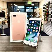 AS NEW IPHONE 7 PLUS 128GB ROSE GOLD UNLOCKED WARRANTY INVOICE Ashmore Gold Coast City Preview