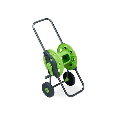 Relaxdays Schlauchwagen Trolley, Mobile Reel for 45 m Water Hose, 1/2 Inch, G...