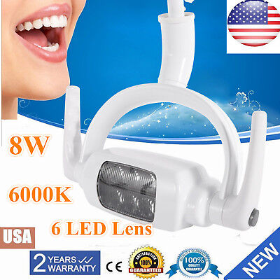 6led Dental Teeth Operating Lamp Oral Light Induction For Dental Unit Chair Tool