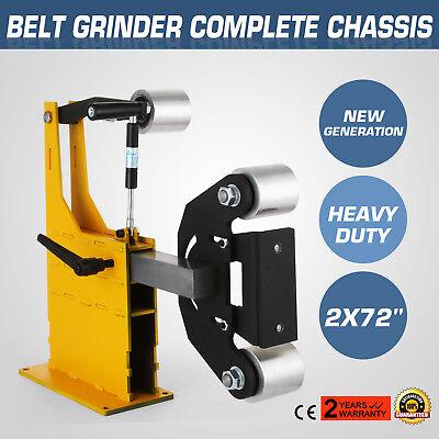 2x72 Belt Grinder Knife Making Complete Chassis Tooling Arm Aluminum Razor Maker