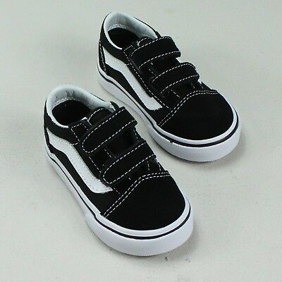Vans Old Skool V Toddlers/Infants Trainer Black/White Size 3,4,5,6,7,8,9,10