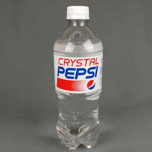 Pepsi Crystal Clear 20 Oz Expired Bottle 2018 Full Sealed