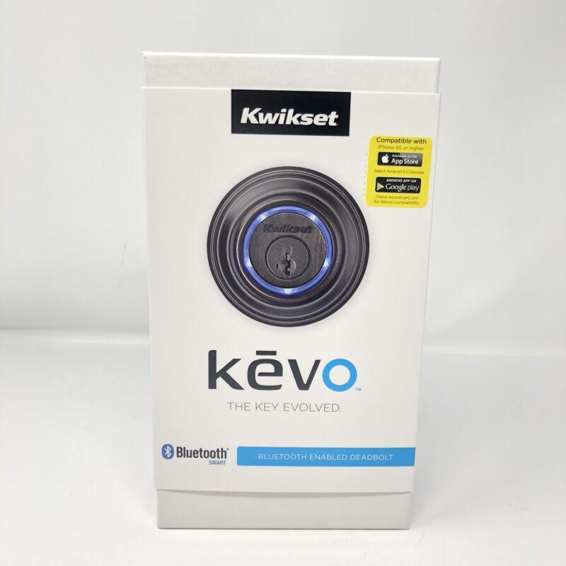 Kwikset 925 Kevo DB 11P Keyless Bluetooth Deadbolt Lock, Venetian Bronze