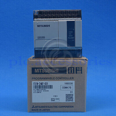 New Mitsubishi Fx1n-24mt-001 Plc Programmable Controllers One Year Warranty