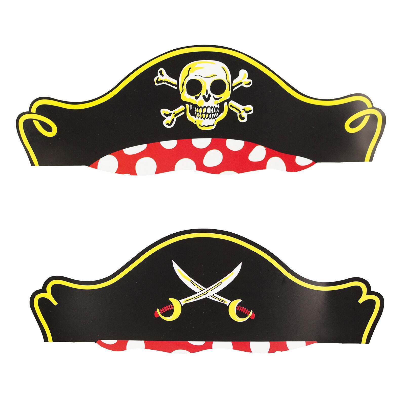 Пиратская шляпа из бумаги схема
