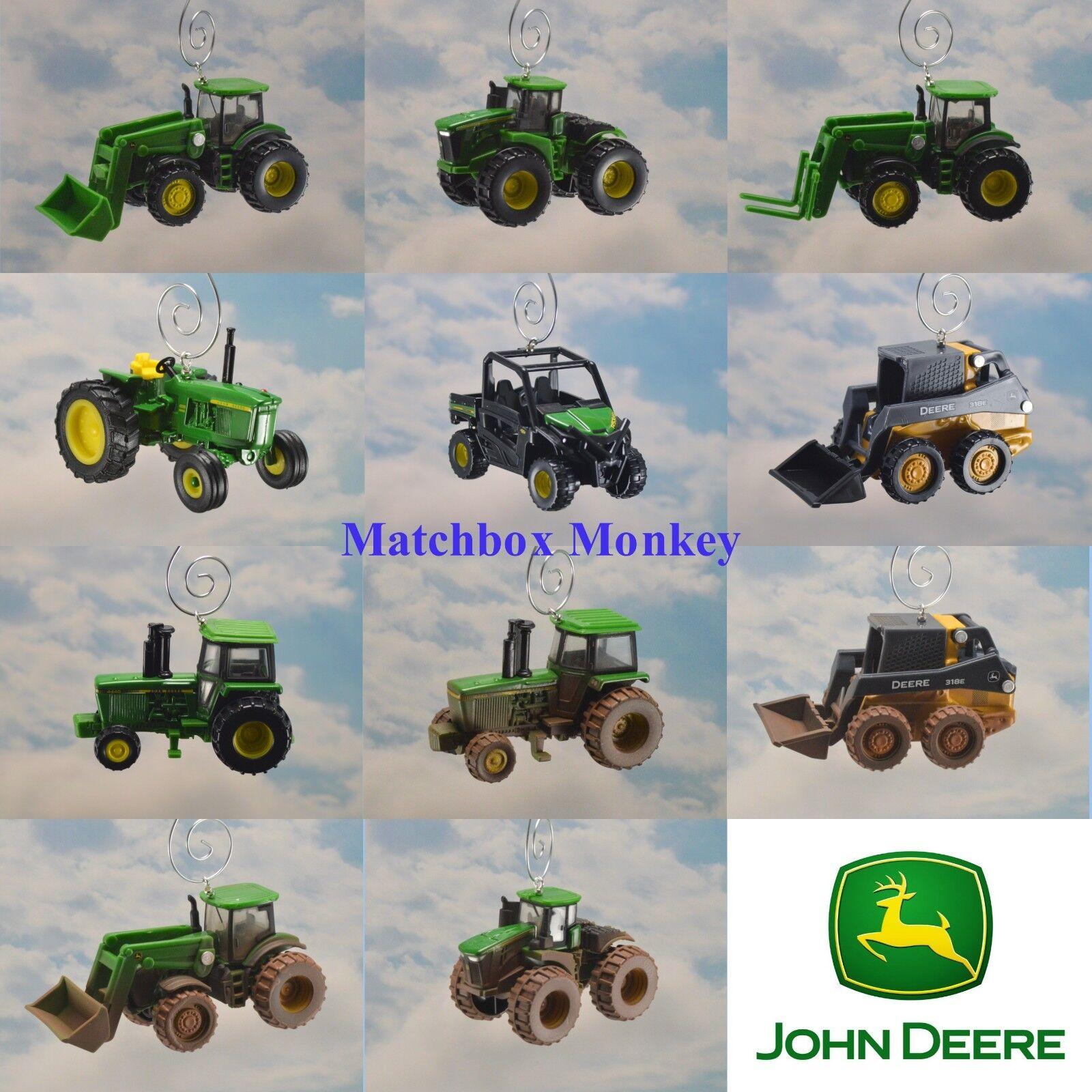 John Deere Gator 4x4 Tractor Skidsteer Forklift Loader Chris
