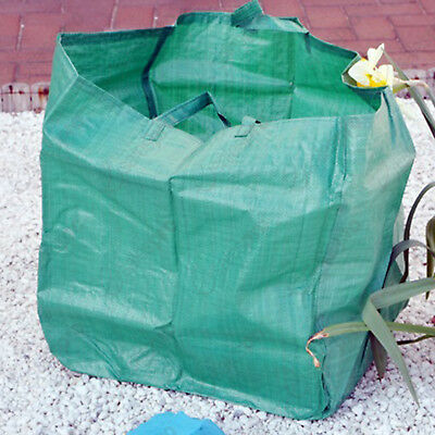 X2 HEAVY DUTY GARDEN REFUSE BAG GARDEN WASTE BAG GREEN - GB2