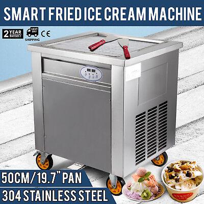 Thai Fried Ice Cream Machineroll Ice Cream Maker With Temperature Control Panel