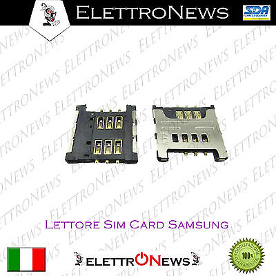 Lettore Sim Note N7000 Samsung S5330 Wave C3530 C3750 I5510