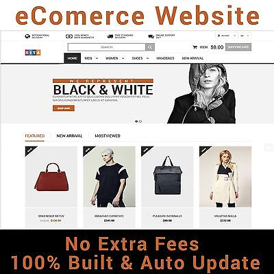 Professional Online Store Ecommerce Website   Multi Vendors   Hosting One Year