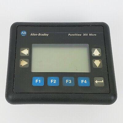 Allen Bradley Panelview 300 Micro Keypad 2711-m3a19l1 Ser A Rev C Frn. 4.41