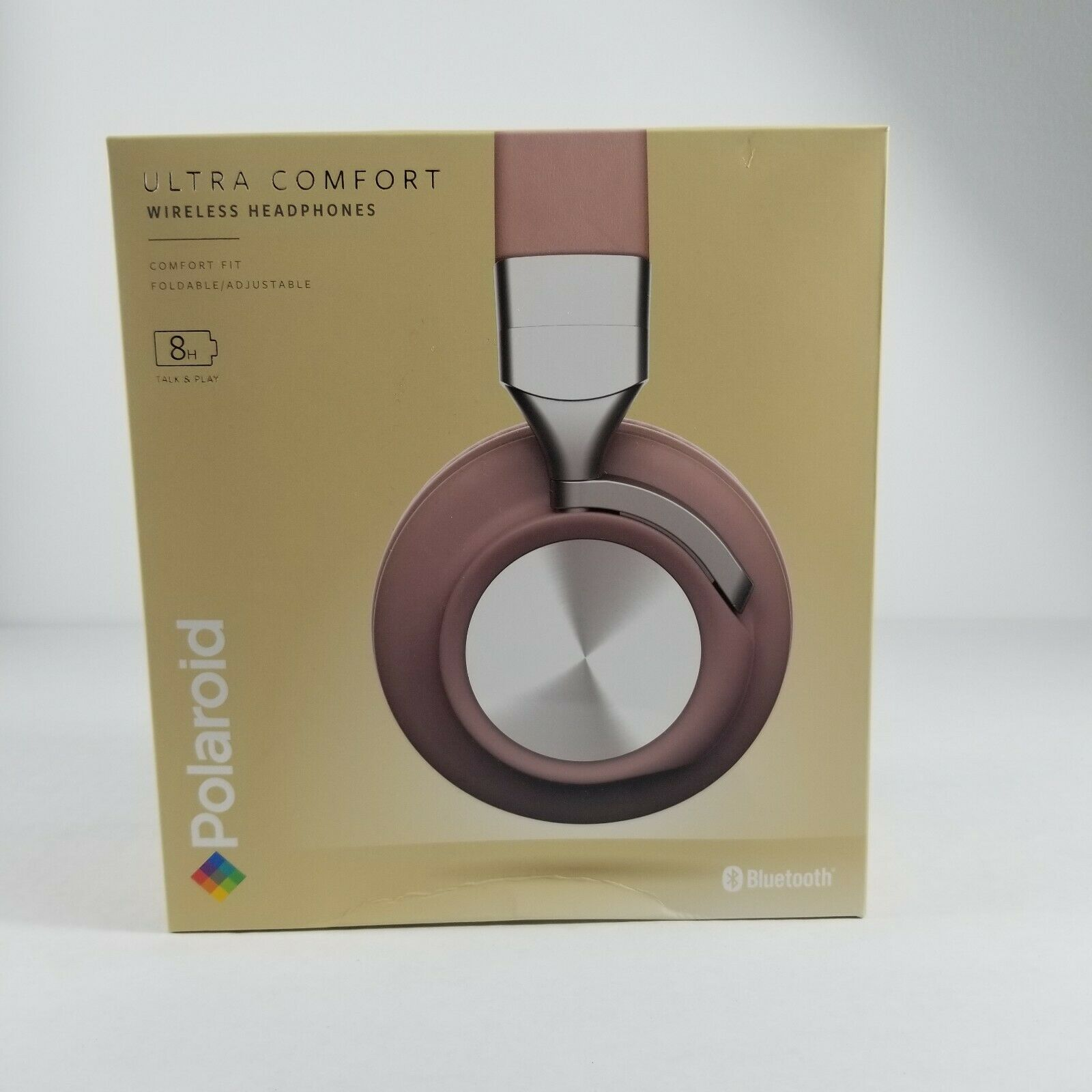 Polaroid Wireless Ultra Comfort Foldable Bluetooth Headphone 2 Colors Retail 60 - $15.99